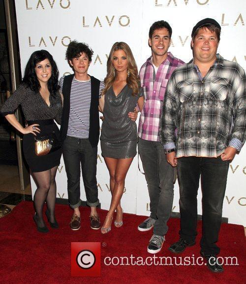 Cast members Kara Taiz, Paul Lacono,Amber Lancaster, Jayson...