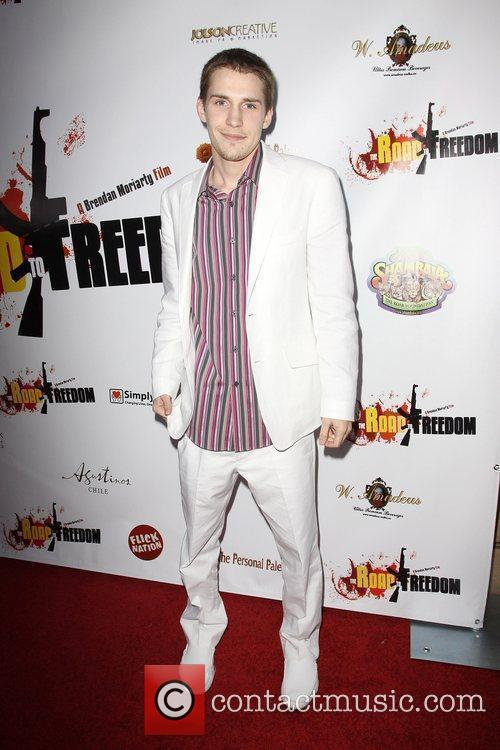 Brendan Moriarty 'The Road To Freedom' Premiere held...