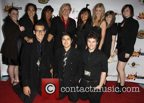 Jolson Team 'The Road To Freedom' Premiere held...