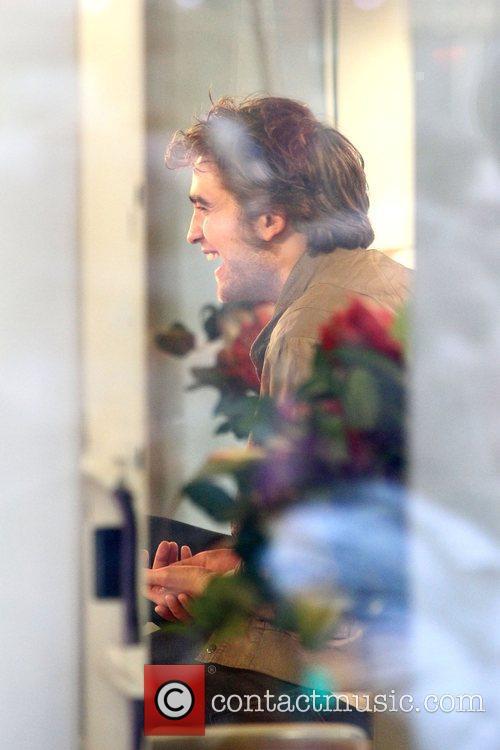 Robert Pattinson being interviewed on NBC's 'Today' show...