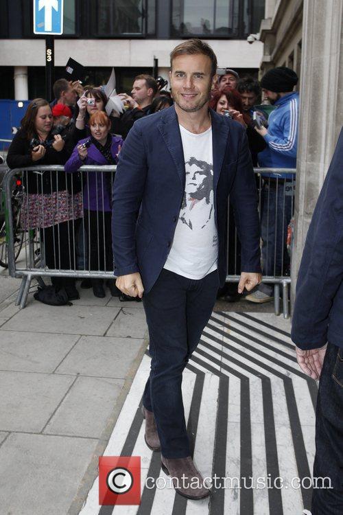 Gary Barlow  Celebrities outside the BBC Radio...