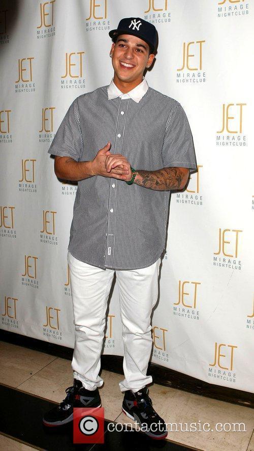 Celebrates his 23rd birthday at Jet nightclub at...