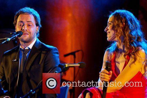 Roberta Sa and Antonio Zambujo performing live at...