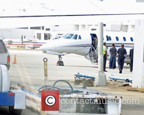 Roberto Alomar is seen arriving in Puerto Rico...