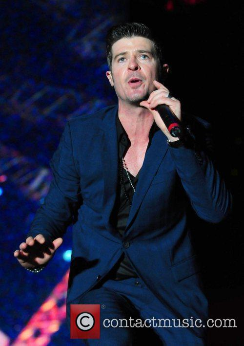 Robin Thicke 'The 5th Annual Jazz In The...