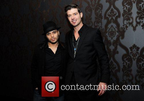 Richie Akiva and Robin Thicke 2