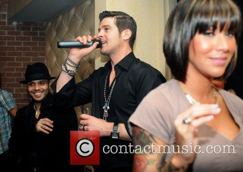Robin Thicke's Concert After-Party at Butter