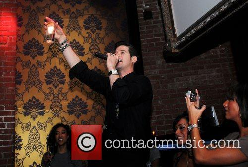 Robin Thicke Robin Thicke's Concert After-Party at Butter...