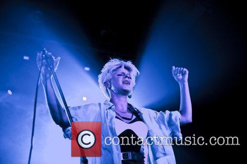 Robyn performing live at Heaven