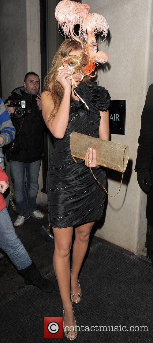 Una Healy of The Saturdays arrives at the...