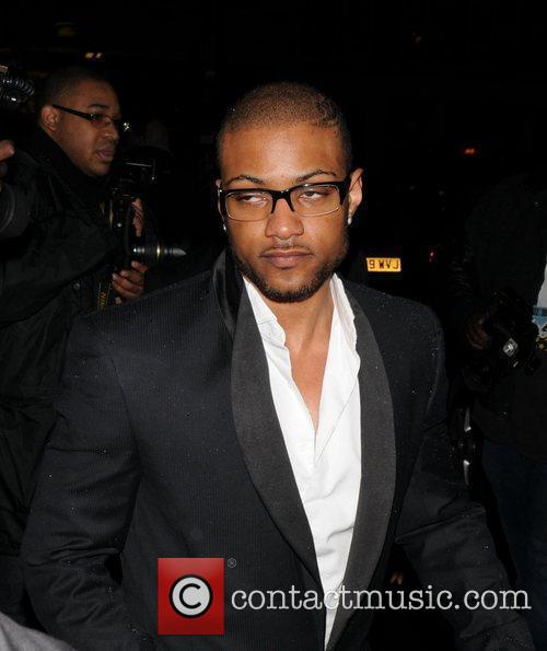 Ortise Williams arrives at Rochelle Wisemans 21st Birthday...