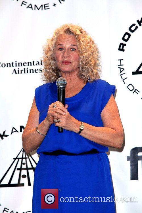Carole King and Rock And Roll Hall Of Fame