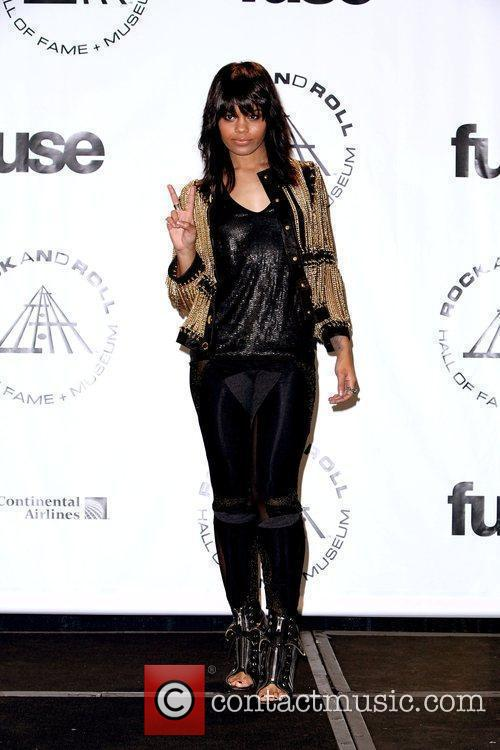 Fefe Dobson and Rock And Roll Hall Of Fame 1