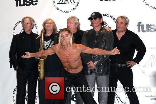 Inductees James Williamson, Iggy Pop and Rock And Roll Hall Of Fame 1