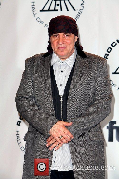 Steven Van Zandt and Rock And Roll Hall Of Fame 2