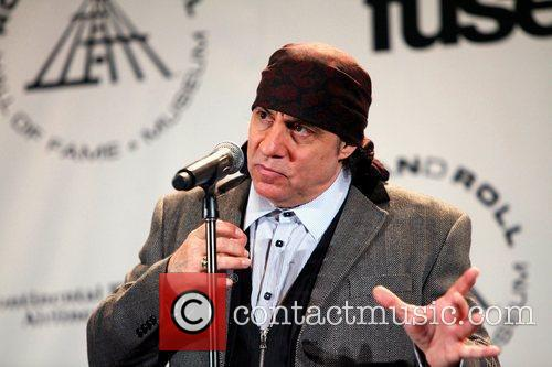 Steven Van Zandt and Rock And Roll Hall Of Fame 1