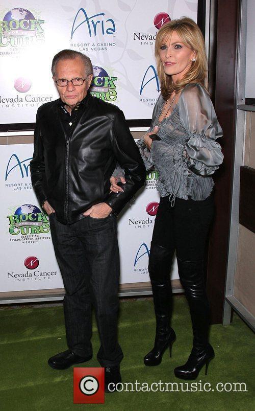 Larry King, Eva Longoria, Las Vegas, Shawn King and The Cure 5