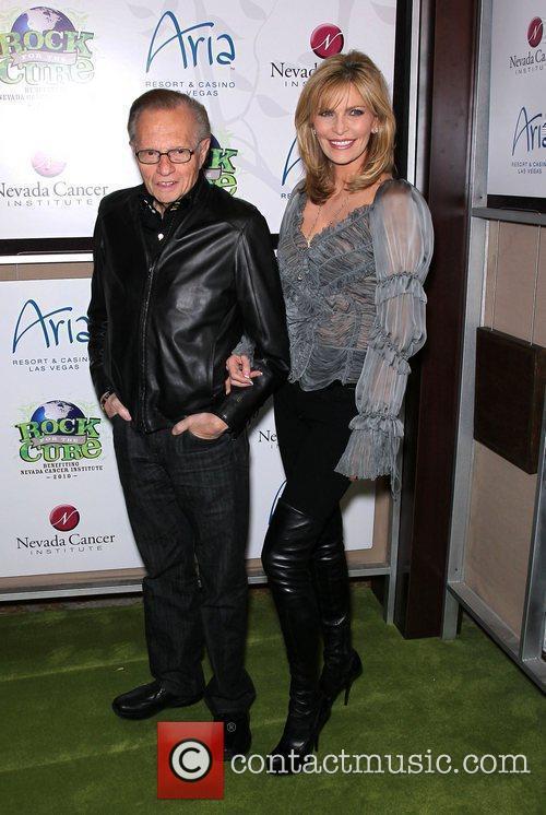 Larry King, Eva Longoria, Las Vegas, Shawn King and The Cure 2