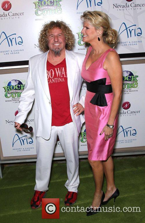 Sammy Hagar, Eva Longoria, Las Vegas and The Cure 2