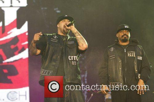 B-Real and Sen Dog Cypress Hill performing live...