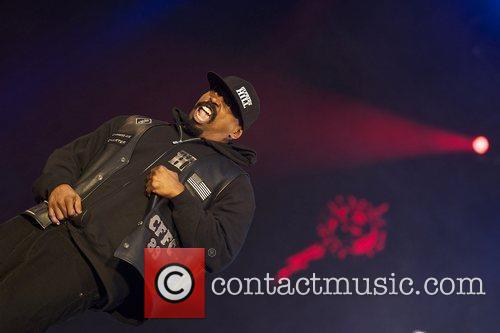 Cypress Hill performing live in concert during the...
