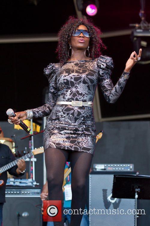 Vanessa Haynes of Incognito Rock in Rio Lisboa...
