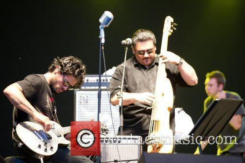 Robi Draco Rosa Performing Live At The Second Day Of The Rock In Rio Madrid Festival At El Campillo. 1