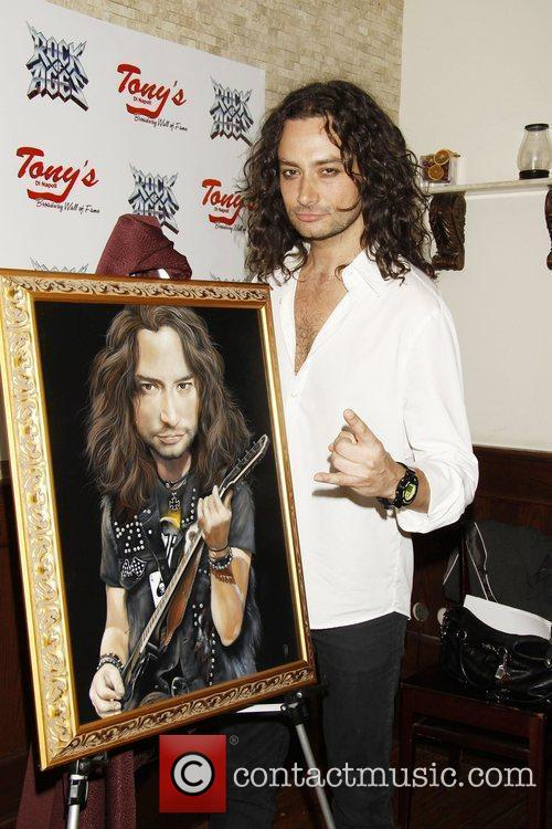 Constantine Maroulis attending the portrait unveiling and party...