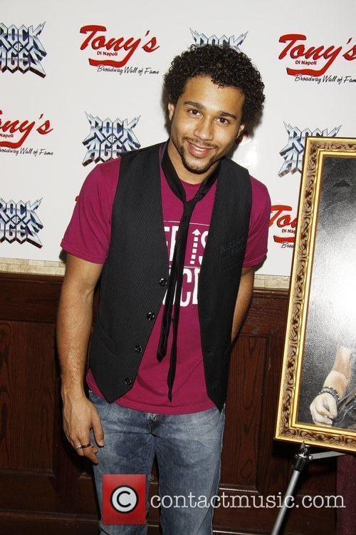 Corbin Bleu attending the portrait unveiling and party...