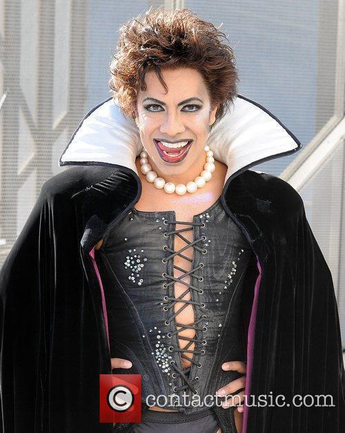 The cast of the Rocky Horror Show attend...