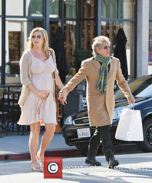 Rod Stewart and Penny Lancaster 12