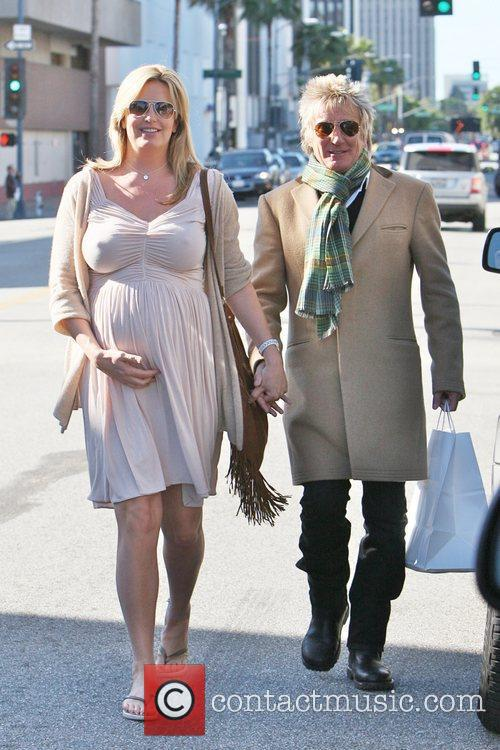 Rod Stewart and Penny Lancaster 1