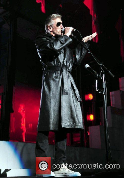 Singer Roger Waters  performs 'The Wall' in...