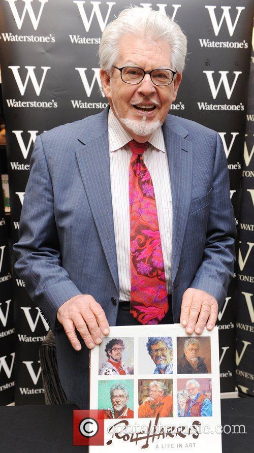 Rolf Harris  Rolf Harris at a book...
