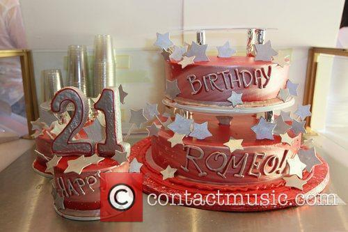 Romeo aka Percy Romeo Miller, Jr. cake Romeo...