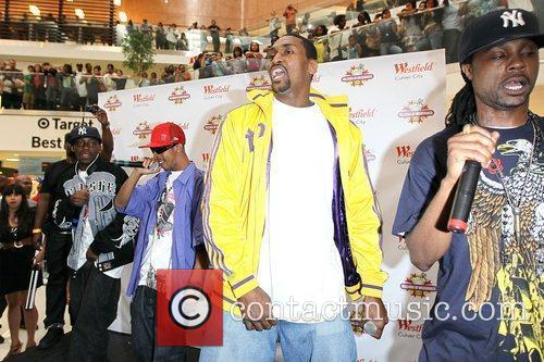 LA Lakers player and NBA champion Ron Artest...