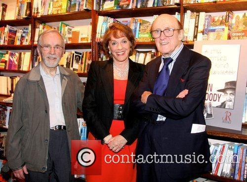 Ron Moody attends a book signing for his...