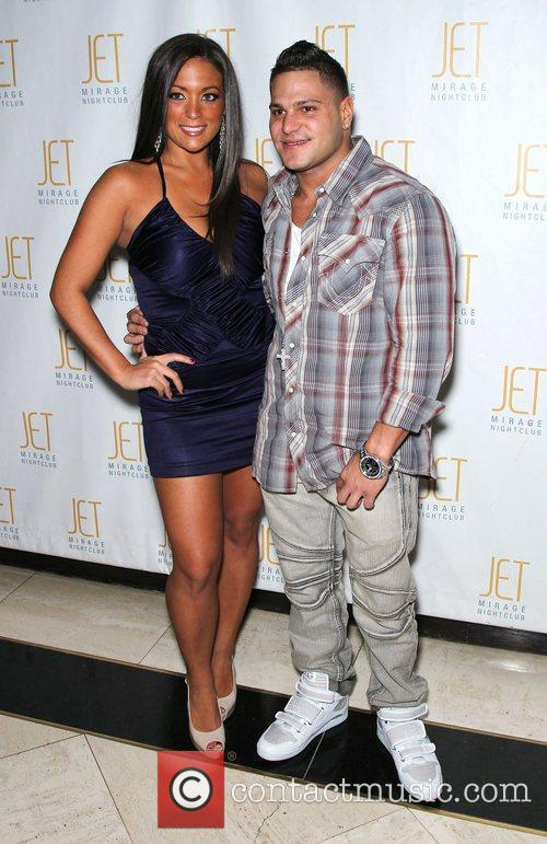 Sammi Sweetheart Giancola and Ronnie Magro Jersey Shore...