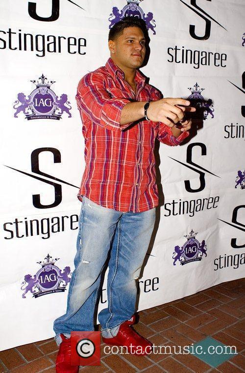 Ronnie Ortiz-Magro from 'Jersey Shore' arrives at Stingaree...