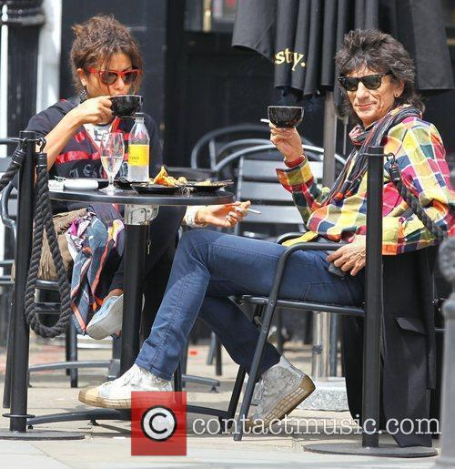 Ronnie Wood, Ana Araujo