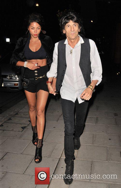 Ana Araujo and Ronnie Wood 6