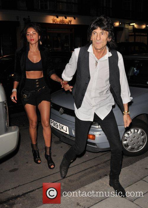 Ana Araujo and Ronnie Wood 4