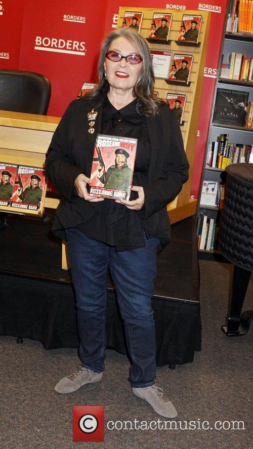 Roseanne Barr  signs her new book 'Roseannearchy:...