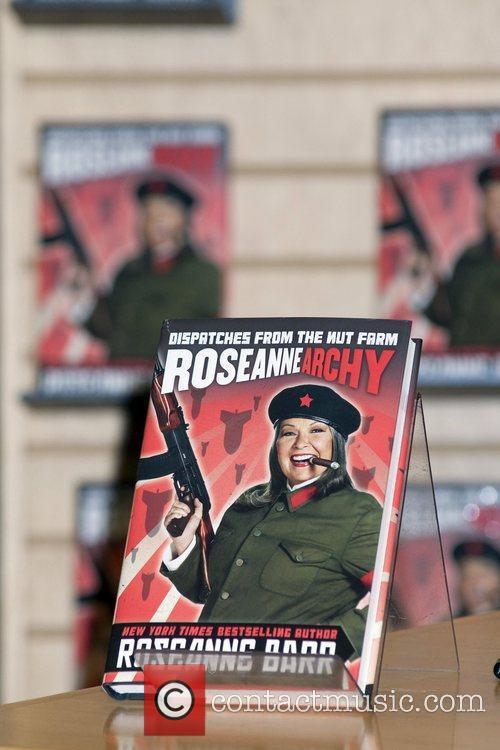 Roseanne Barr signs her new book 'Roseannearchy: Dispatches...