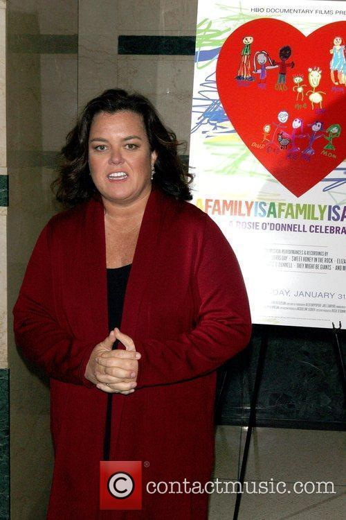 Rosie O'Donnell HBO Documentary Films and GLAAD co-host...
