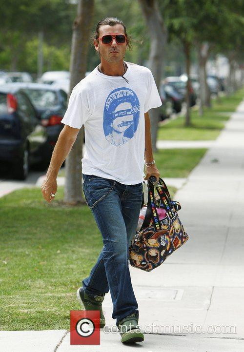 Gavin Rossdale shopping in Beverly Hills