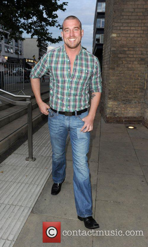 Andy Cowles (Stephen Gately partner) at iTunes Festival...