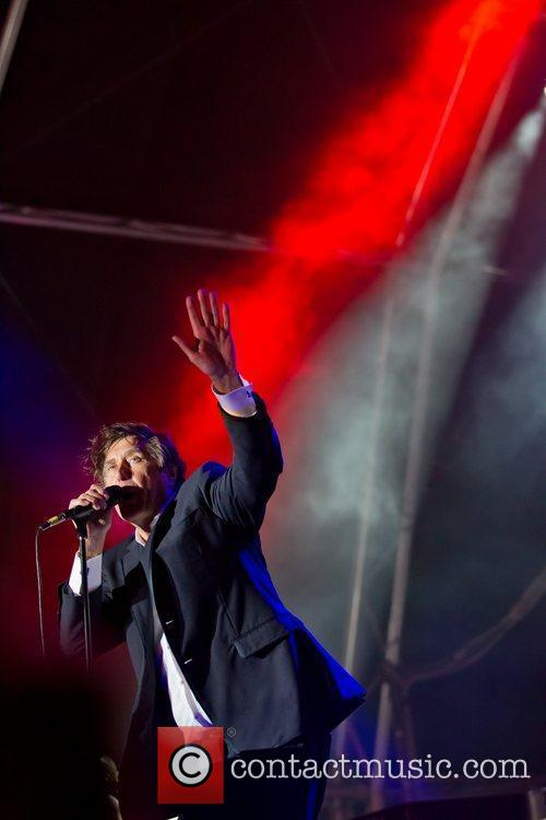 Bryan Ferry of Roxy Music performing live at...