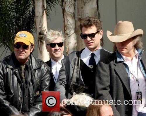 Dan Aykroyd, Chris Isaak, David Lynch and Roy Orbison