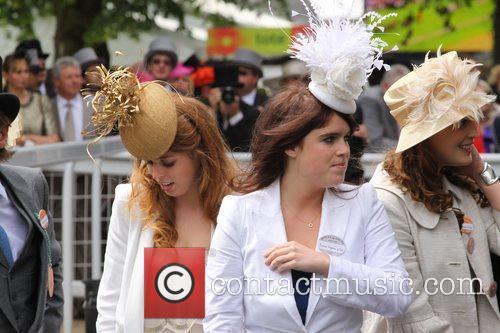 Princess Beatrice and Princess Eugenie Royal Ascot -...